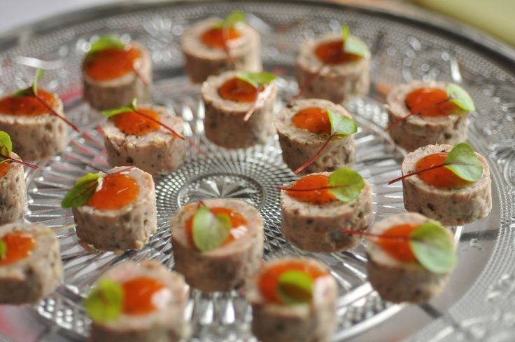 9 best canape trays images on pinterest canapes serving for Canape serving platters