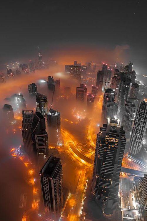 Urban Smoke - Dubai --- by Karim Nafatai.