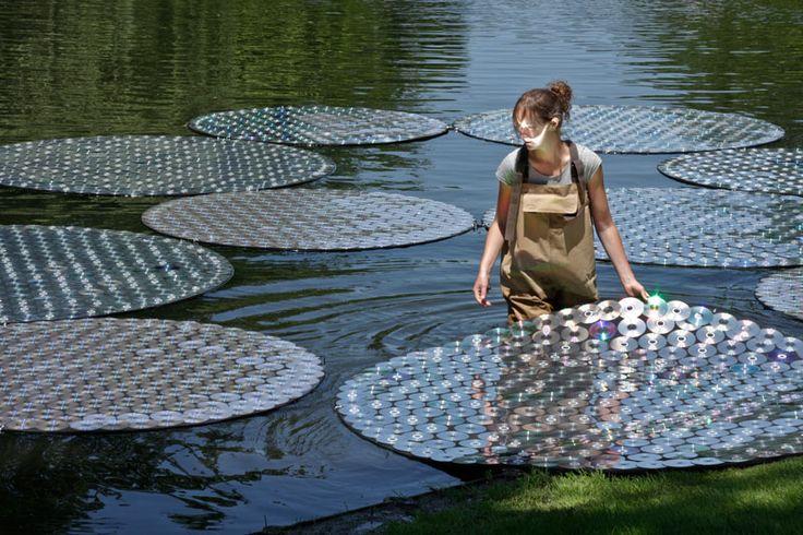 cd art bruce munro waterlilies