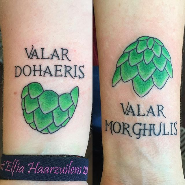 Pin for Later: 20 Geeky Tattoos You'll Be Dying to Get With Your Best Friend Game of Thrones