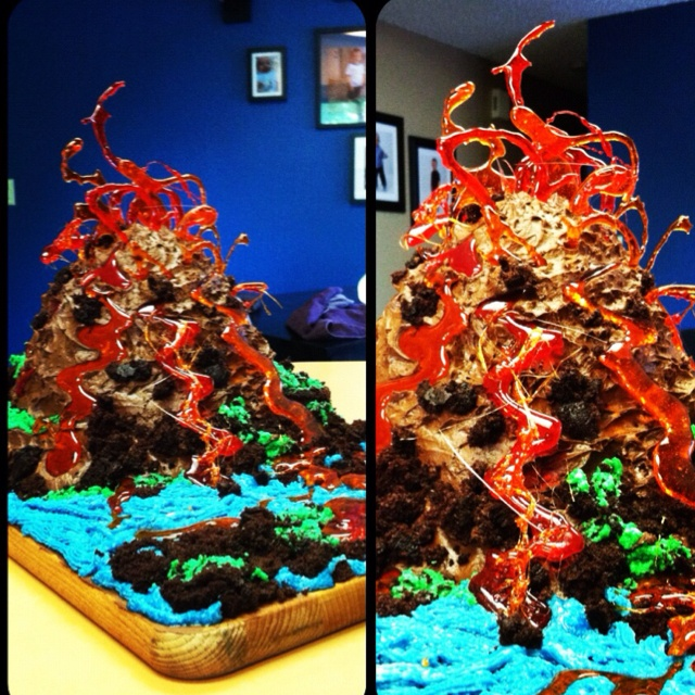 25 Best Ideas About Volcano Cake On Pinterest Cupcakes Parts And Chocolate