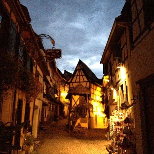Eguisheim i Alsace