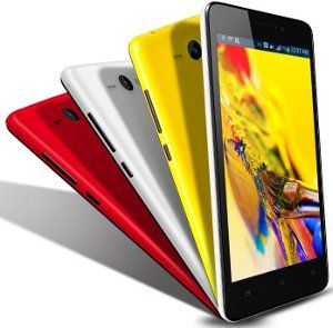 Spice Mi-520n (Black) with 3 Back Panels (Red, Yellow, White) Deal Price:6,999.00 You Save:3,000.00 (30%)  8MP primary camera with BSI Sensor and HD video recording; 2MP front facing camera 5-inch IPS TFT capacitive HD touchscreen with 1280 x 720 pixels resolution and 16.7M color support;1.3 GHz Quad Core Processor; Screen is Pre-laminated giving it a premium look and anti-glare Android v4.4 Kitkat Os, 1GB RAM, 8GB internal memory expandable up to 32GB and Dual SIM 2000mAH lithium-ion…