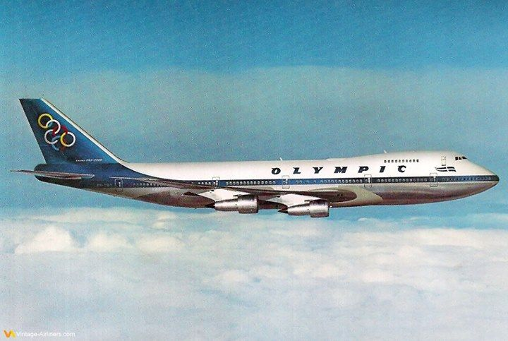 Olympic Airways Boeing 747-200B Jumbo - NK