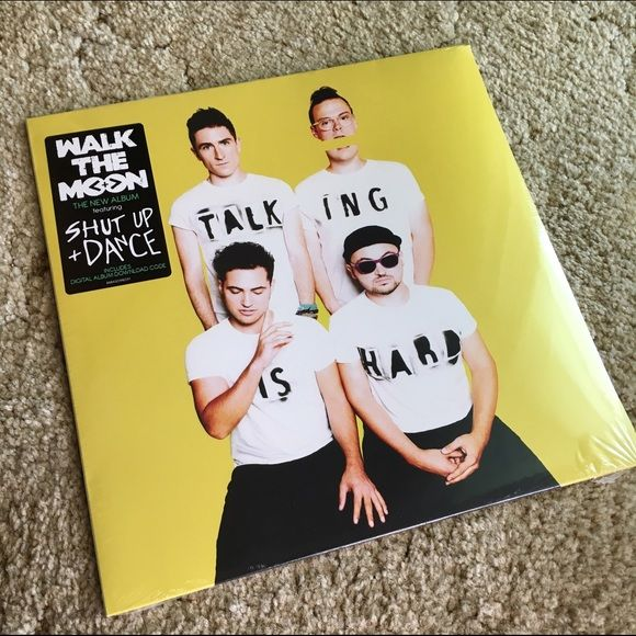 Walk the Moon, Talking is Hard - Vinyl Brand new still in plastic!! Urban Outfitters Other