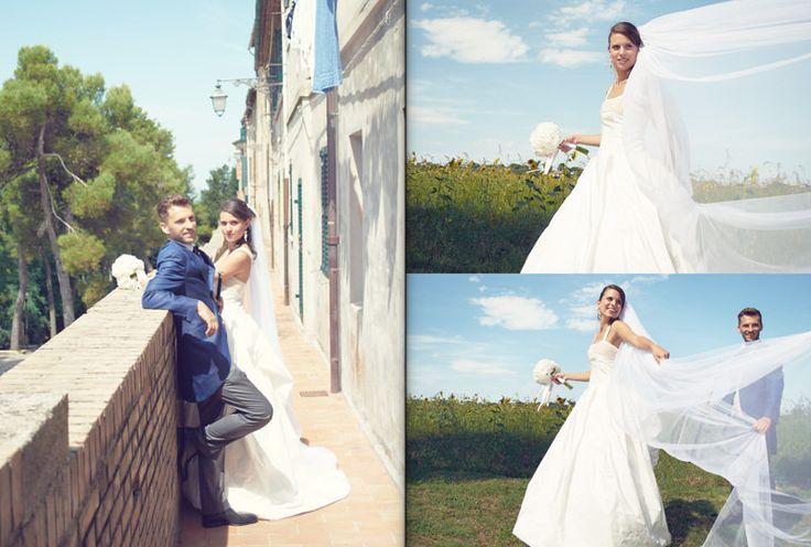 bride groom pic photo idea veil dress gown nature beautiful wedding  by Luca Massaccesi http://www.brobrowedding.com/
