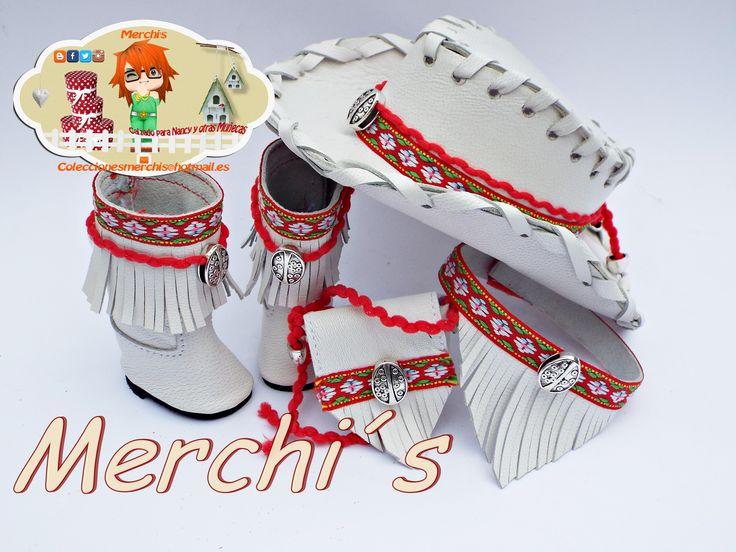 Modelo blanco decoración tonos rojos