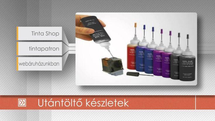 Utántöltő készletek  http://www.tintashop.hu/