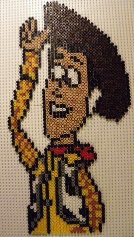 Toy Story  Woody hama beads by perleshamanews