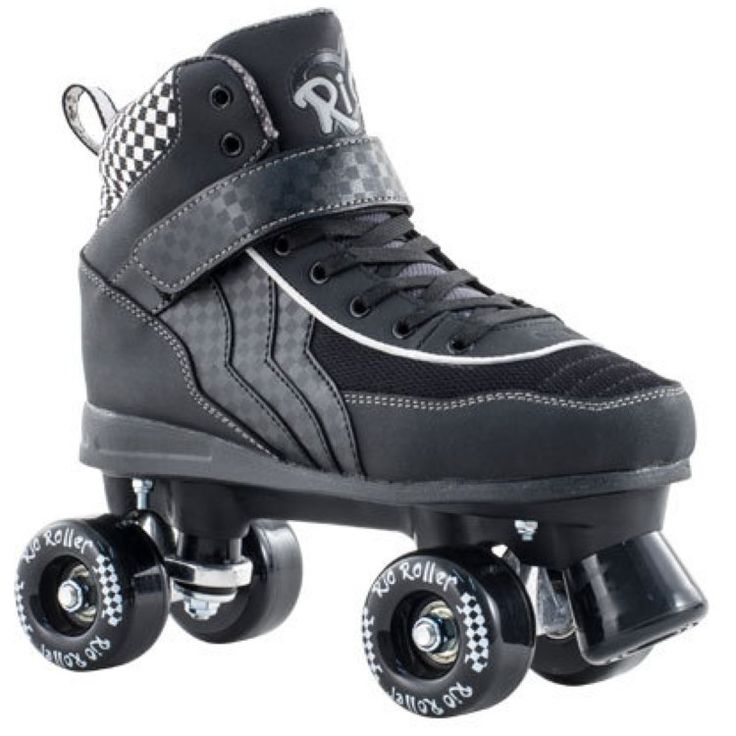 Rio Roller Mayhem Quad Skates - Black/White | Roller Derby Skates | Roller Derby Quad Skates UK | Cheap Skates For Sale | Cheap Skates For Sale | Skatehut