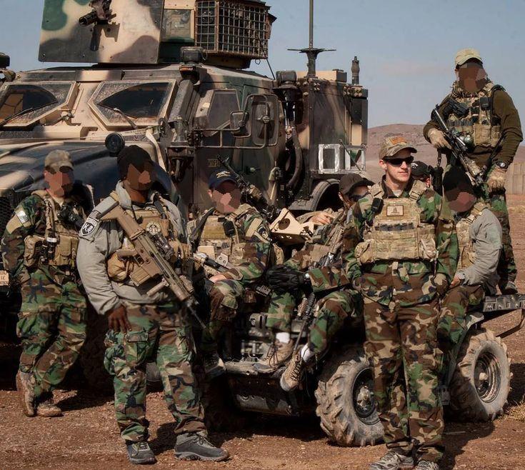 US Army SOF with minigun MATV [1080x966] MilitaryPorn