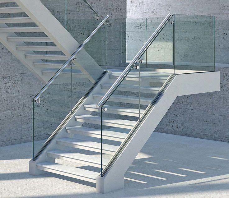 1000 ideas sobre barandales de cristal en pinterest - Barandillas escaleras modernas ...