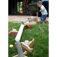 Kodo Kids™ Outdoor Ramps-Constructive creativity is limitless when children play with these versatile outdoor ramps.