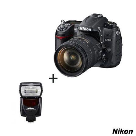 Compre já a sua Câmera Digital Nikon D7000 16.2 MP com LCD 3″, Lente 18-105mm e Gravação em Full HD + Flash Speedlight SB700 para Câmera Digital Nikon Profissional e Semi Profissional, por R$ 8.480,24.