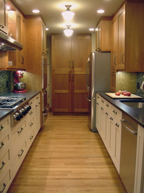 updated galley kitchen for the home pinterest galley