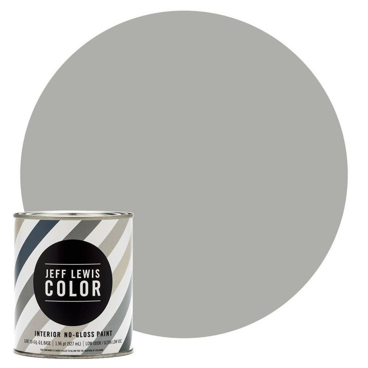 Jeff Lewis Color 1-qt. #JLC413 Dusk No-Gloss Ultra-Low VOC Interior Paint-104413 - The Home Depot
