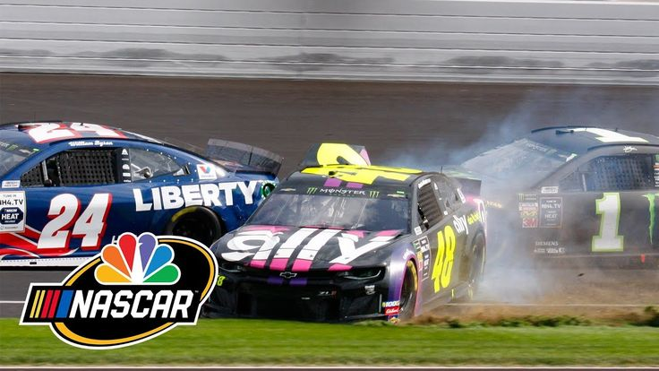 Jimmie Johnson's playoff hopes end after wreck at The