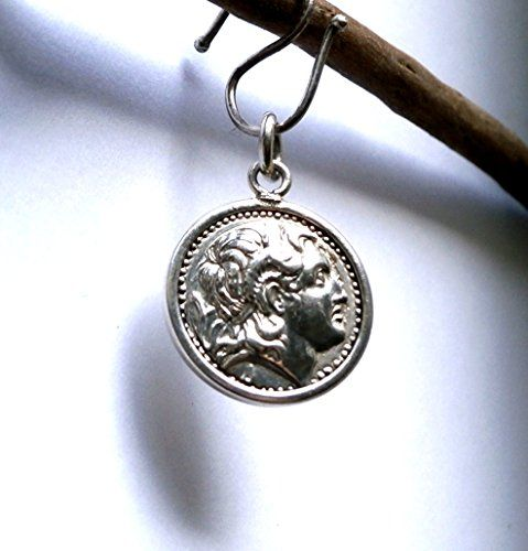 Alexander - Small Silver Pendant     Pressed - Handmade     925 Sterling Silver     Diameter 27mm     Weight: 4.4g    Alexander - Small Silver Pendant Konstantis Jewelry http://www.amazon.com/dp/B00QZK64SG/ref=cm_sw_r_pi_dp_eOGJub16129V5