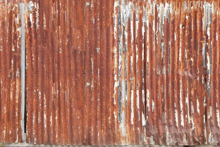 Undulating Rusty Iron Panel Corrugated Iron Pinterest