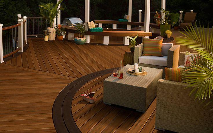 ideas patios design outdoor living design ideas trex decks decks