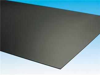 Black Styrene Plastic, 11 Inches Wide x 14 Inches High x .030 Inch Thick (1 Sheet)
