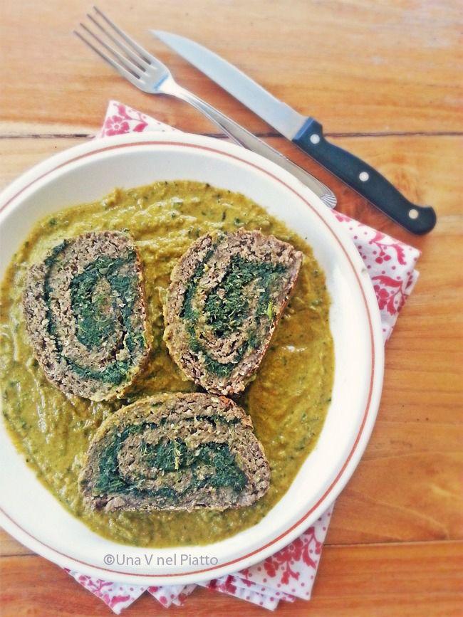 Rollè di lenticchie ed erbe di campo - Una V nel piatto - Ricette Vegane e Mondo Vegan