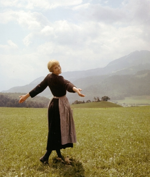 The Sound of Music: Classic Movie, Favorite Things, Sound Of Music, July Andrew, Andrew Boards, Andrew Obsession, Favorite Movie, Dame July, Favorite People