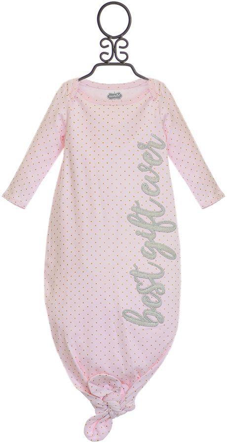 Mud Pie Baby Girls Gown Best Gift Ever
