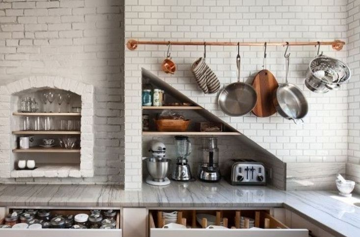 This week, the Remodelista editors just said no—to giant, exploding, oversized houses. Taking matters into their own hands, they're thinking small with compact kitchens, simple marble tables, and a genius new collection coming from Ikea: