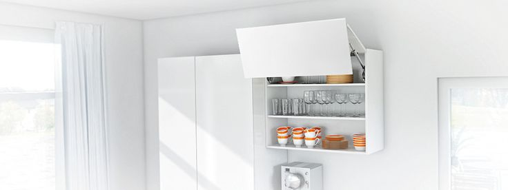 The ideal place to store glasses and crockery.