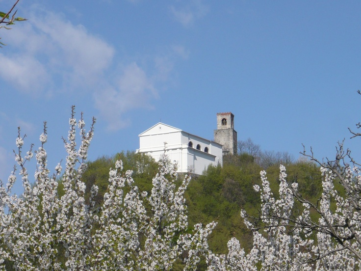 Castelnovo del Friuli - Castello visto da Franz