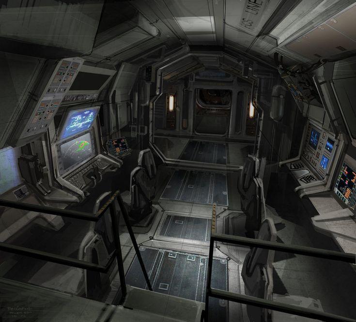 Futuristic interior cyberpunk atmosphere avatar concept for Cyberpunk interior design