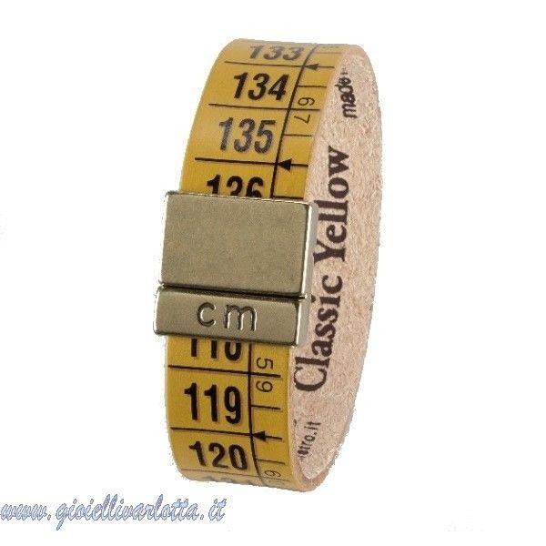 #Ilcentimetro #Bracciale #Classic #Yellow  #Aquista #ONLINE € 20 http://www.gioiellivarlotta.it/product.php?id_product=1418