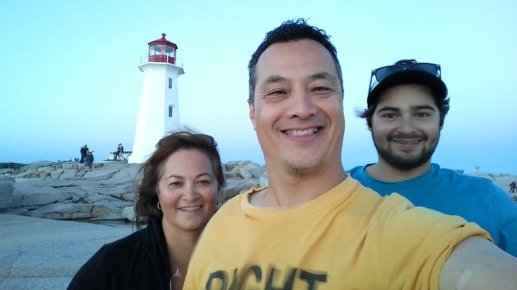 Family - Peggy's Cove