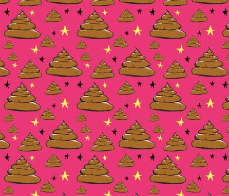 """Yep, that's right. POOP fabric! """"Wacky Turds by Azure"""