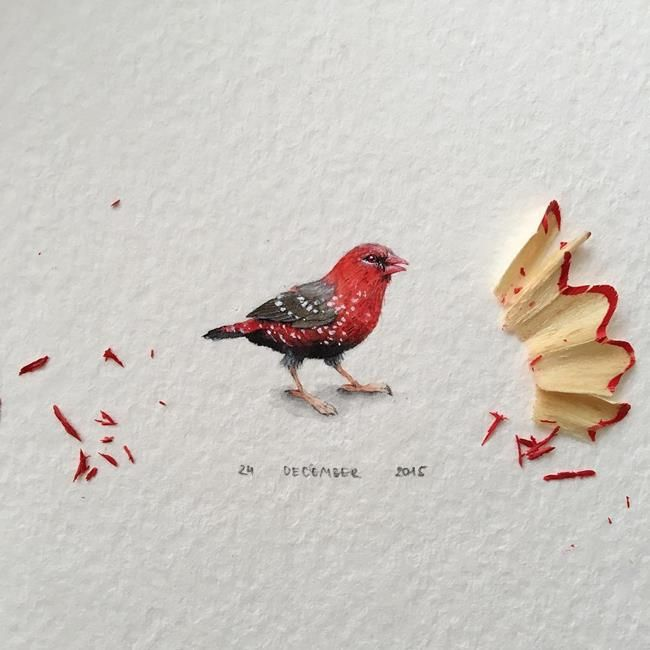 """Hayvanlar Alemi ve Meyveleri Resmeden Sanatçıdan 30+ Çalışma: """"Irene Mia"""" Sanatlı Bi Blog 38"""