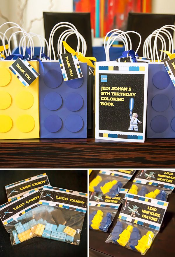 Legos & Lightsabers Star Wars Birthday Party
