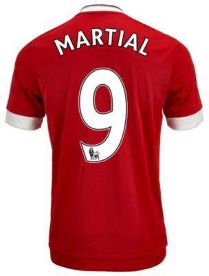 Kids 2015/16 adidas Manchester United Anthony Martial Home Jersey. Hot at SoccerPro.
