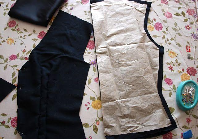 Jenny Olofsson - En Vintage Saga : Den svarta 40-tals kavajen #sömnad #sy #sewing #sew #40s #40tal #pattern #symönster #vintage #blog #blogg #vintageblog