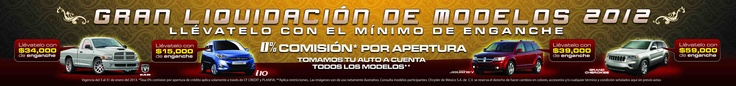Vinil para agencia automotriz, liquidación de modelos 2012