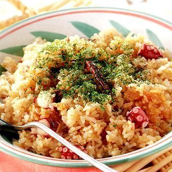 ガーリックたこライス | 中島有香さんのごはんの料理レシピ | プロの簡単料理レシピはレタスクラブニュース