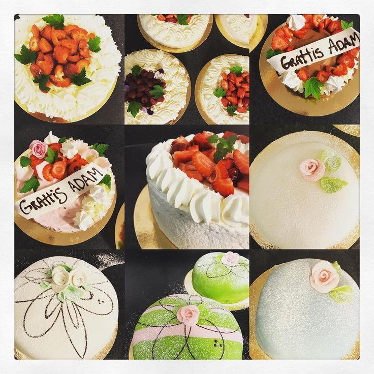 """141 gilla-markeringar, 1 kommentarer - Evelinas kök (@evelinaskok) på Instagram: """"En vecka fylld av tårtbeställningar i olika smaker och efter önskemål. Jag hinner inte alla era…"""""""