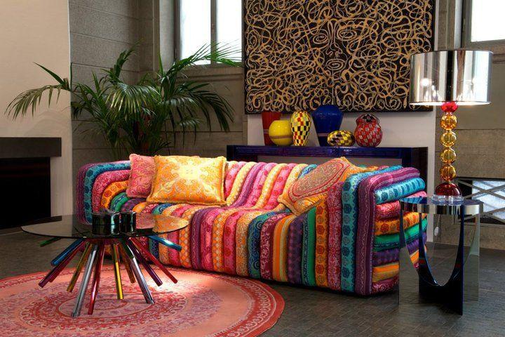 Sofa Multicolor Para El Hogar Pinterest Sofas