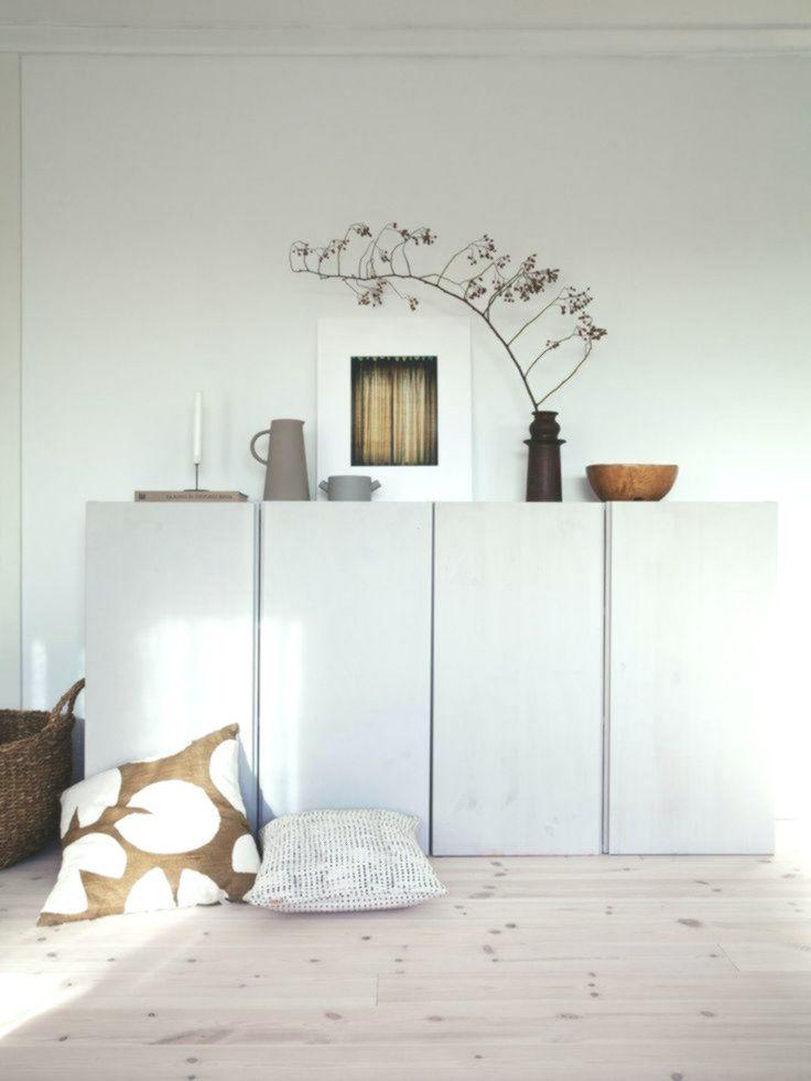 Home Decorating Ideas Modern Living Room Sideboard Cabinet Storage Ikea Ivar Hack Lacquered Light Gray White Dec Wohnzimmer Modern Wohnzimmerschranke Ikea Ivar