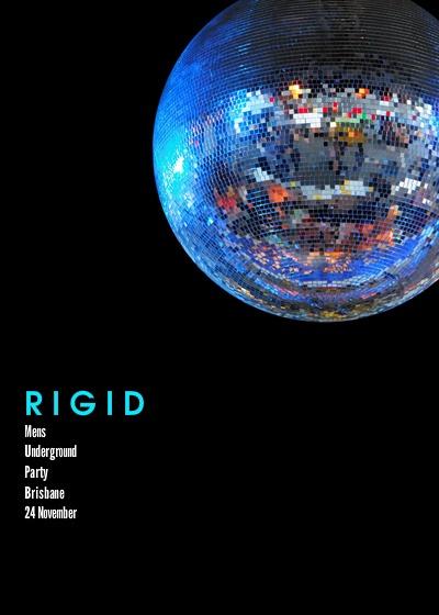 I'm hosting 'RIGID - MENS UNDERGROUND PARTY - BRISBANE' on pingg! http://pingg.com/01Jjj0