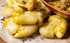 Batatas ao murro - O acompanhamento perfeito para estrogonofe