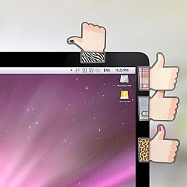 творческая симпатичная форма большого пальца скрапбукинга самоклеющийся примечание – RUB p. 68,65