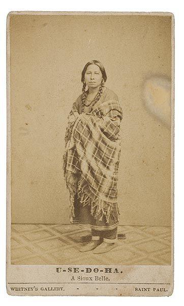 U-Se-Do-Ha - Mdewakanton - 1860