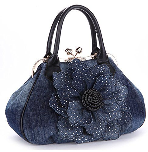 KAXIDY Ladies Girls Womens Denim Handbag Jean Bag Denim S... https://www.amazon.com/dp/B00KKKQT2I/ref=cm_sw_r_pi_dp_x_eRxXybPRJHY5S