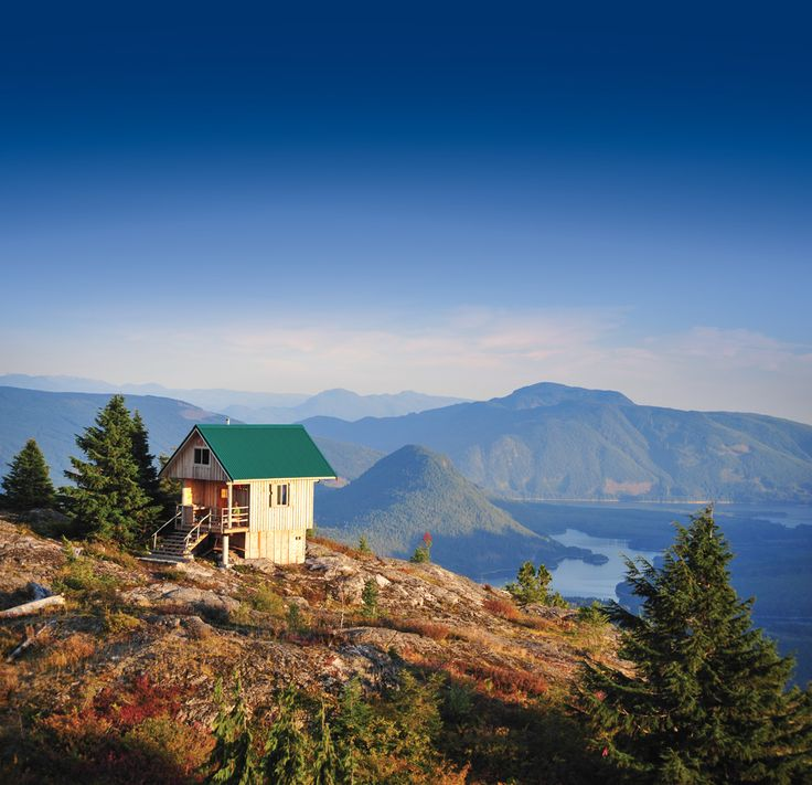 Hoofing it up the Sunshine Coast Trail to Tin Hat Hut pays off with a 360-degree view of the Powell River backcountry.